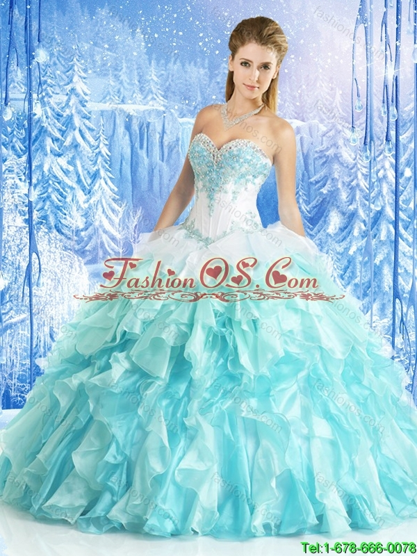 Classical Multi Color Quinceanera Gowns with Appliques and Beading