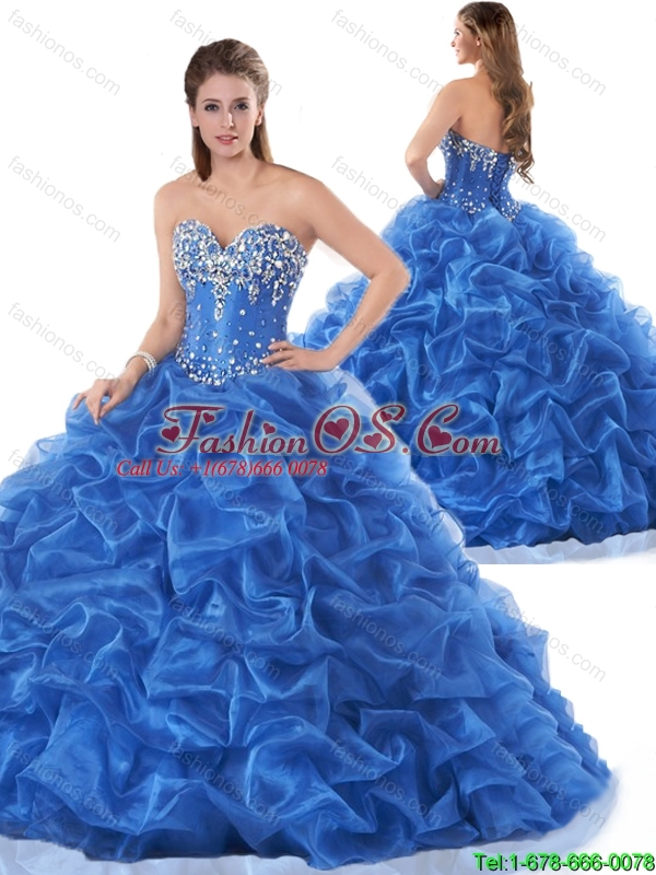 New Style Pick Ups and Beading Quinceanera Dresses