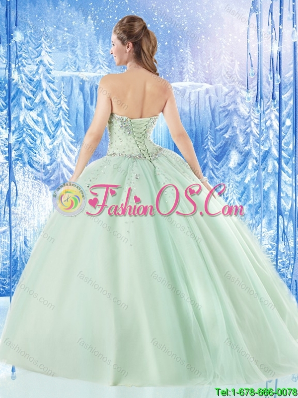 Fashionable Ball Gown Beading Quinceanera Dresses with Sweetheart