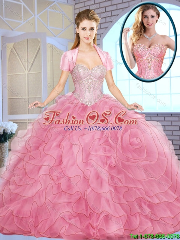 Popular Ball Gown Sweetheart Quinceanera Dresses for 2016 Spring