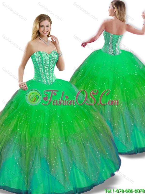 Classical Floor Length Quinceanera Dresses with Sweetheart