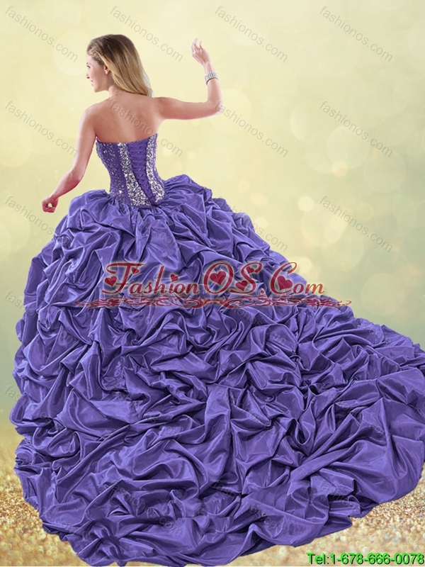 Elegant Spring Sweet 16 Dresses with Beading and Appliques