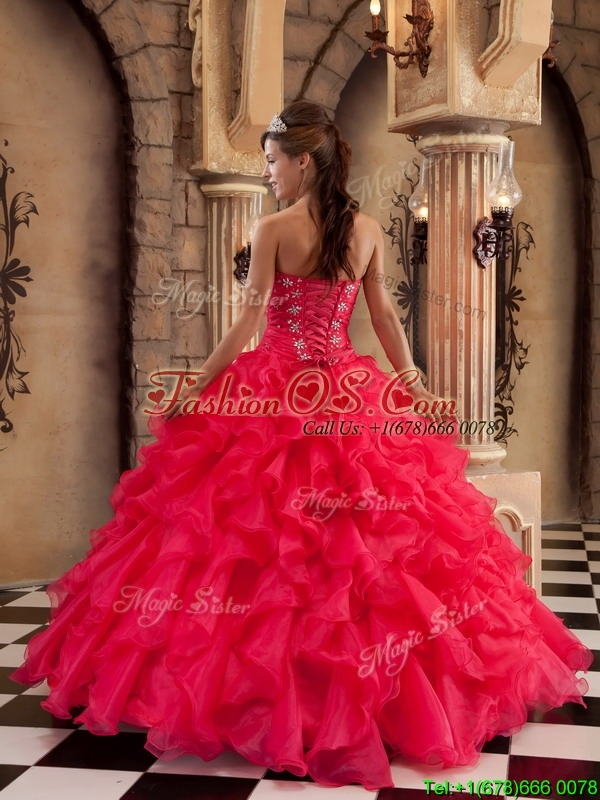 New Arrival Ball Gown Sweetheart Floor Length Quinceanera Dresses