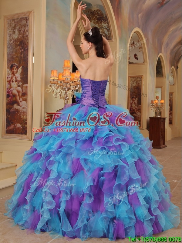 Luxurious Ball Gown Sweetheart Quinceanera Dresses in Multi Color