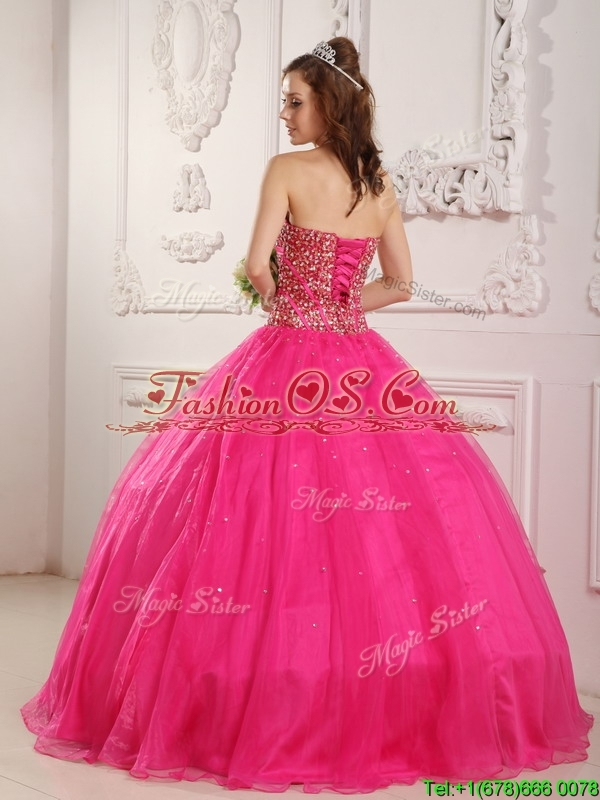Clearance  A Line Sweetheart Quinceanera  Dresses  with Beading
