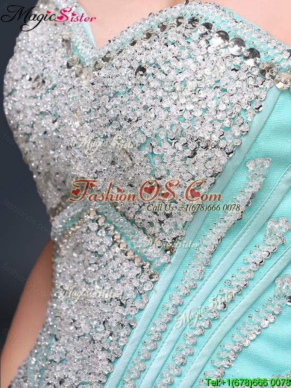 Modest Sweetheart Beading Quinceanera Gowns for Summer