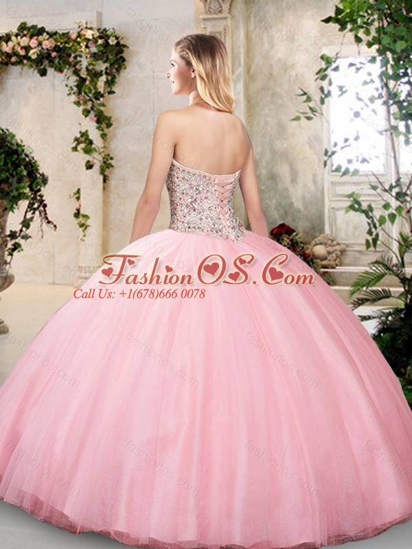 New Arrivals Sweetheart Quinceanera Dresses in Pink