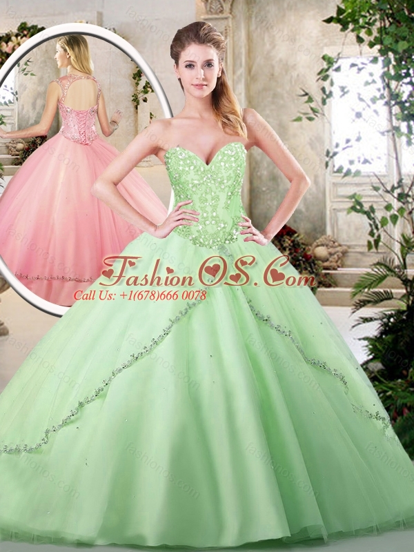 2016 Hot Sale Ball Gown Sweet 16 Dresses with Appliques