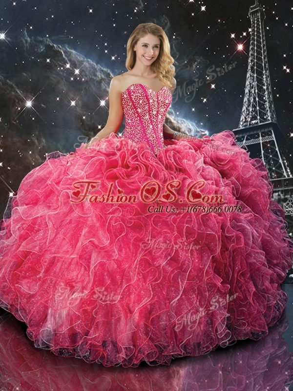 2016 Pretty Ball Gown Sweetheart Princesita with Quinceanera Dresses with Beading