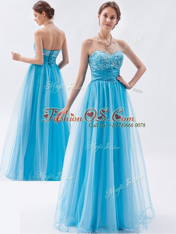 Classical Empire Sweetheart Beading Dama Dresses for Pageant