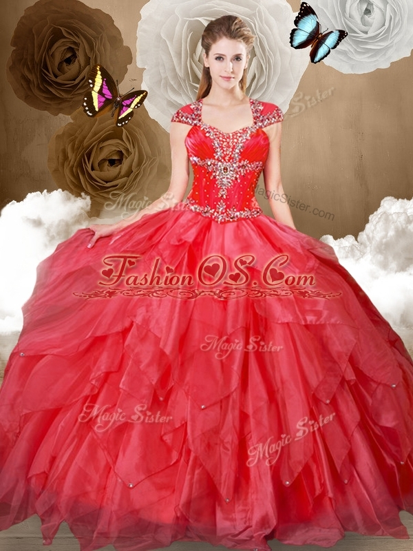 Clearance Ball Gown Sweet 16 Quinceanera Dresses with Beading and Ruffles