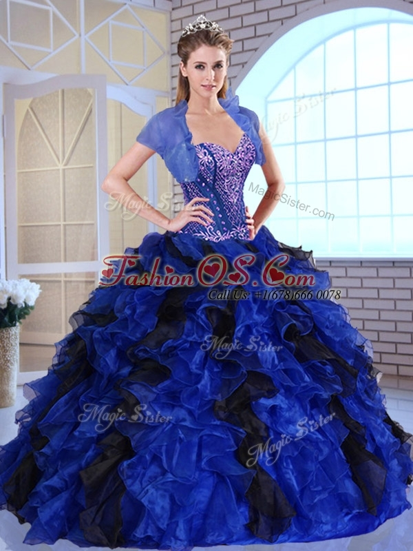 Clearance Hot Ball Gown Appliques and Ruffles Quinceanera Dresses for Fall