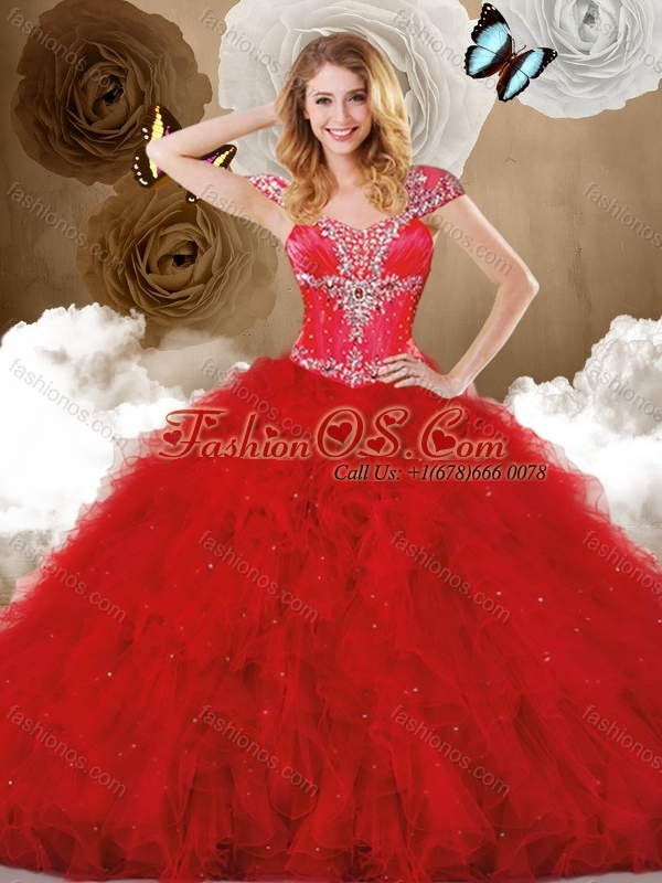 Cute Sweetheart Ball Gown Quinceanera Dresses with Ruffles