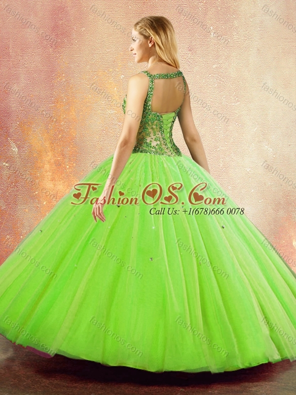 Discount  Straps Open Back Quinceanera Dresses with Ruffles