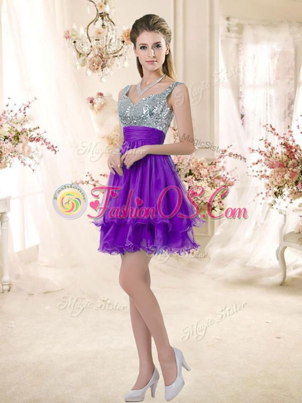 Short Purple Prom Dresses 2016 - Formal Dresses