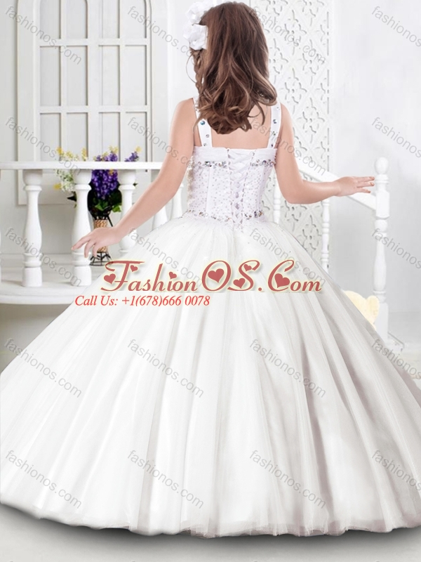 Luxurious See Through Zipper Up Princesita Quinceanera Dresses in Baby Blue