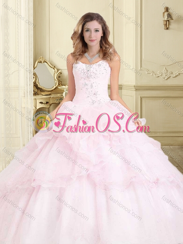 New Arrivals Applique and Ruffled Perfect Quinceanera Dresses in Organza
