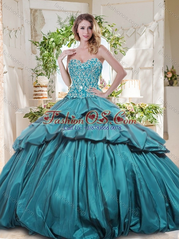 The Most Popular Really Puffy Quinceanera Dresses with Beading and Pick Ups