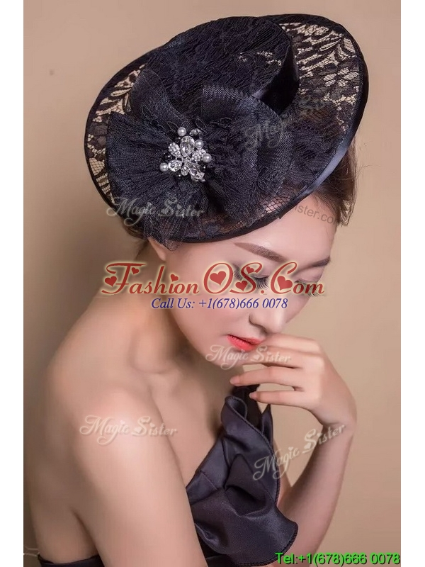 Best Selling Beaded and Laced Headpieces in Black