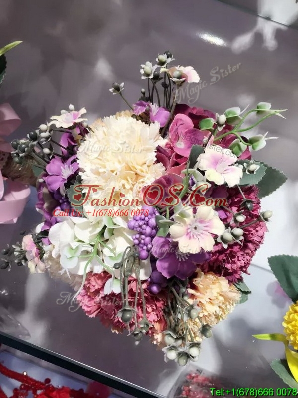 Lovely Multi Color Wedding Bouquet for Bride