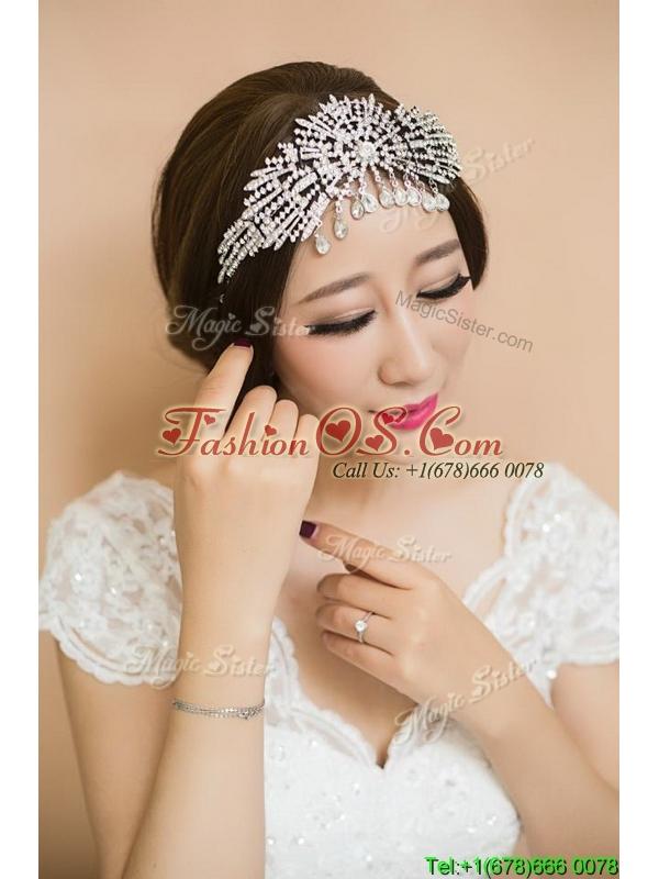 Gorgeous Beaded Silver Tiaras for Women