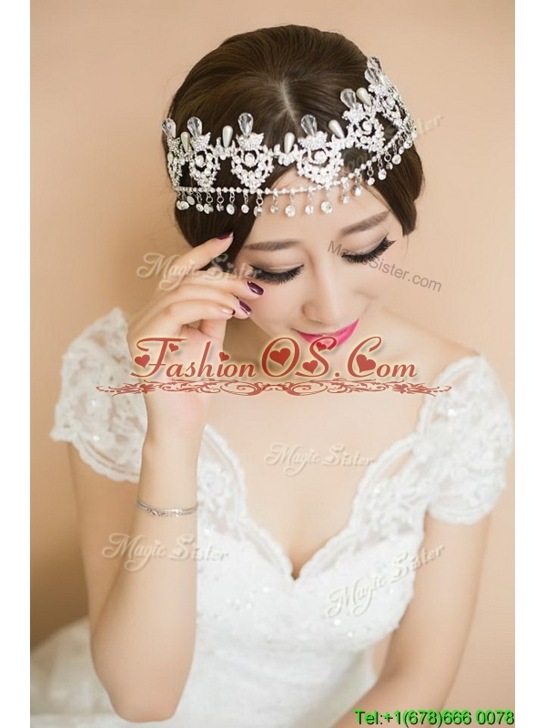 Wonderful Beaded Silver Tiaras for Women