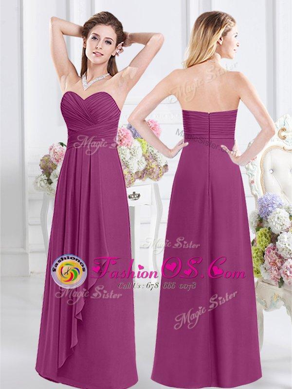 Top Selling Scoop Half Sleeves Lace and Ruching Zipper Vestidos de Damas