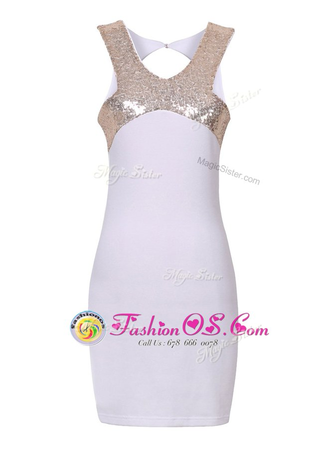 Halter Top Sleeveless Sequins Zipper Prom Evening Gown