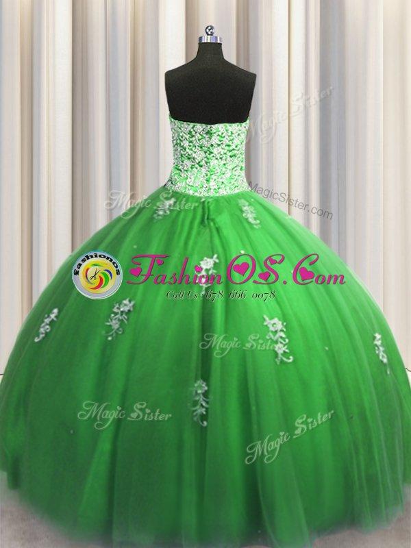 Visible Boning Zipper Up Lilac Ball Gowns Sweetheart Sleeveless Organza Floor Length Zipper Beading and Ruffles Sweet 16 Quinceanera Dress